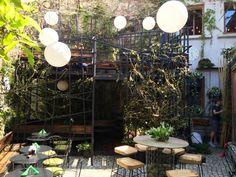 Terasa Simbio Bucharest, Concept, Restaurant