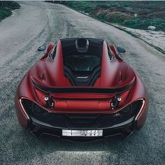 Matte red McLaren P1! Photo via: @trevorfromwherever Second page: @M85Media Other page: @StancedAutohaus #AmazingCars247 #exoticcar #TagsForLikes #driver #drive