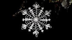 How To Crochet Snowflake #19
