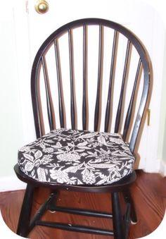HomeSpun-Threads: DIY Chair Cushions