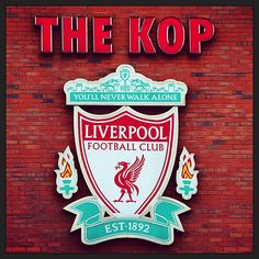 The Kop. #lfc #liverpool #liverpoolfc Liverpool Football Club, Liverpool Fc, Football Team, Steven Gerrard Liverpool, European Men, Bao, Soccer, Passion, My Love