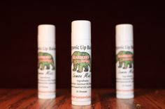 Lemon Mint Lip Balm $2.50 - $4.00  100% Organic Lemon Mint Lib Balm   .15 Ounce Tube or .4 Ounce tin  Lemon balm infused oil is mixed together with the essential oils of Peppermint, Spearmint, and Lemon to make this lip balm tingle your lips and provide dry lip relief.