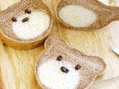 ミルクくま食パンの画像