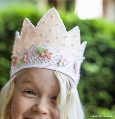 ATELIER CHERRY: Coroa de princesa