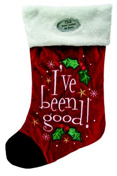 Personalised Christmas Stockings  Santa Stocking $17.99.
