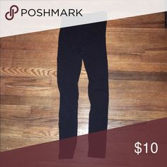 Forever 21 S High-Waisted Leggings In good condition! Forever 21 Pants Leggings