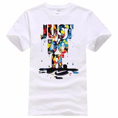 dce212bbef1 Just do it pant splattered t-shirt. Get your Nike brand with a taste