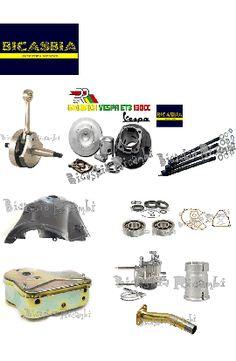 6490 - CILINDRO DR 57 130 CC ALBERO MOTORE CARBURATORE 19 VESPA 125 ET3
