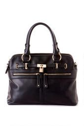 Soho Lock Medium Satchel in Black @Colton Dils Merry Christmas :))))