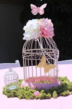 Wedding Bridesmaid Brunch. Luncheon, Breakfast Buffet. Centros de mesa