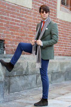 Hackett london blazer  filippo fiora  www.thethreef.com