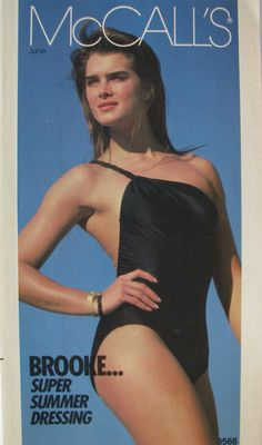 Brooke Shields covers McCall's Brochure  ( United States ) June 1983