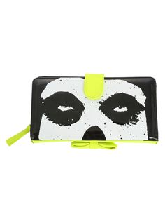 Iron Fist Misfits Bow Wallet | Hot Topic