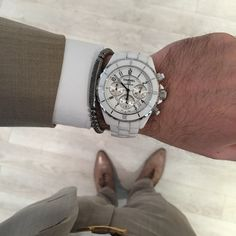 Summer Look with ChanelJ12 Chronograph