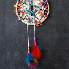 dreamcatchers for little kids lace and bead dreamcatcher diy craft