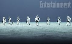 Entertainment Weekly has released some images showing Rogue One: A Star Wars Story's stormtroopers, as well as the elite 'deathtroopers'. Rogue One Star Wars, Star Wars I, Film Star Wars, Date, Rogue One Trailer, Anthology Film, Imperial Stormtrooper, Episode Vii, Death Star