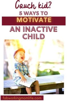 Couch Kid? 5 Ways to Motivate an Inactive Child - Fab Working Mom Life Physical Activities, Activities For Kids, Kids Moves, Working Moms, Amusement Park, Make Time, Fitness Tracker, Physical Fitness, Parenting Advice