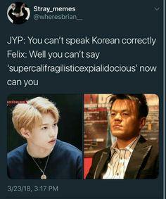 Ich habe zu viele Stray Cheese Memes in meinem Cheese Stick Ordner un… # Zufällig # amreading # books # wattpad memes kpop sᴛʀᴀʏ ᴋɪᴅs ᴍᴇᴍᴇs Funny Kpop Memes, Bts Memes, K Pop, Kind Meme, Day6 Sungjin, Bts Namjoon, How To Speak Korean, Def Not, Jokes