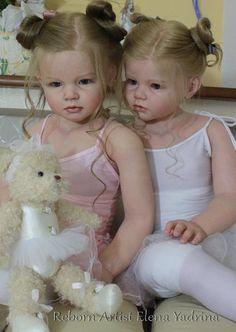 Эва и Анжела. Часть вторая - Балерины. Куклы реборн Елены Ядриной / Куклы Реборн Беби - фото, изготовление своими руками. Reborn Baby doll - оцените мастерство / Бэйбики. Куклы фото. Одежда для кукол