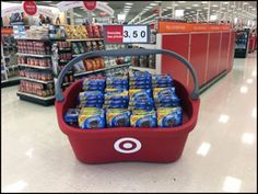 Target Giant Shopping Carry Display 2