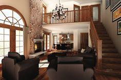 Craftsman Style House Plan - 5 Beds 3.5 Baths 3506 Sq/Ft Plan #23-419 Photo - Houseplans.com