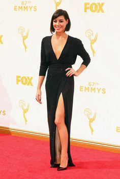 Emmys 2015. Aubrey Plaza in Alexander Vauthier