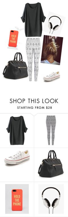 """Untitled #26"" by ieva-24 ❤ liked on Polyvore featuring moda, River Island, Converse, MANGO, Kate Spade, Frends, women's clothing, women, female y woman"