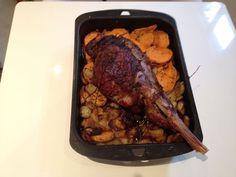 Photo 3 de recette Gigot d'agneau aux pommes boulangères - Marmiton