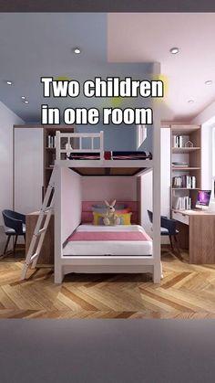 Small Room Design Bedroom, Bedroom Furniture Design, Room Ideas Bedroom, Home Room Design, Small House Design, Home Interior Design, Bedroom Decor, Kids Room Design, Cool Teen Bedrooms