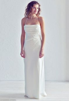 Elegant wedding dress Open back wedding dress by VICTORIASPIRINA
