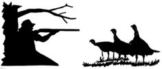 Turkey Hunting Combo Set of 2 Decals - Wildlife Decal