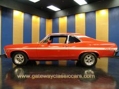 1972 Chevrolet Rally Nova - Stock #4100-STL