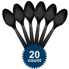 Find Black Plastic Spoons and other Solid Tableware party supplies. The most popular party Supplies and Decorations, all available at wholesale prices! Mary Birthday, Birthday Box, Wholesale Party Supplies, Plastic Spoons, Birthday Supplies, Birthday Party Decorations, Tableware, Black, Dinnerware