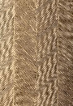 This would look GREAT in a VERY large room or used in a VERY small bathroom, closet, or sitting room  chevron texture in sable schumacher wallcovering from modern glamour collection  #bk722006311