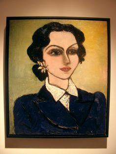 Untitled - Fahrelnisa Zeid - Courtesy of Mathaf; Arab Museum of Modern Art Museum Of Modern Art, Art Museum, Islam, Byzantine Art, Turkish Art, Pictures To Paint, Face Art, African Art, Fine Art Photography