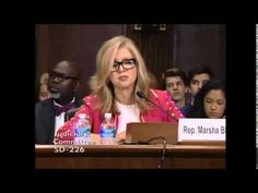 Rep. Marsha Blackburn (R-TN) testifies against S. 1696