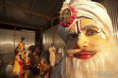 Backstage Prayer, Shivaratri Festival 2011