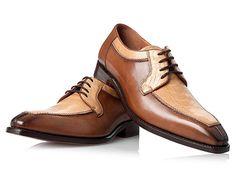 SHOEPASSION.com - Two-Tone Στρουθοκάμηλος παπουτσιών