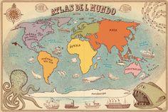 Yo me lo guiso.: Que mal dibujado está el mundo!!!