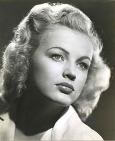 June Haver 1940s makeup
