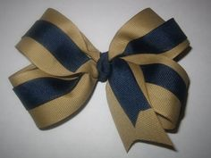 Khaki and Navy Blue Back to School by MyBellaBellaBowtique on Etsy, $3.99