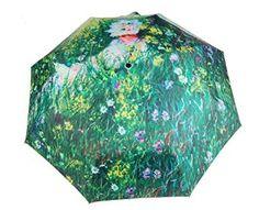Van Gogh Oil Painting Anti-Uv Sun/Rain Umbrellas