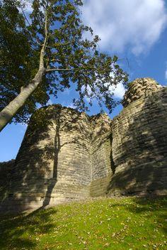 Pontefract Castle, West Yorkshire, England