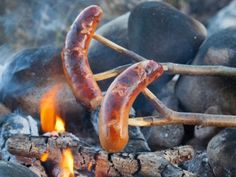 Grillimakkara A Finnish summer is not complete without grillimakkara. These big, fat sausages made for grilling are eaten with mustard and washed down with beer. Finns love them. Children grow up eating this snack food at the summer cottage but also during winter around a campfire.