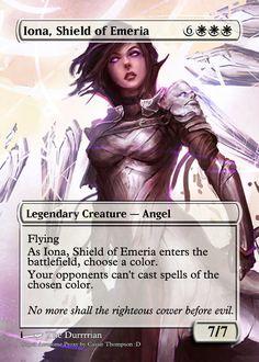 Iona, Shield of Emeria by Itsfish3 on DeviantArt