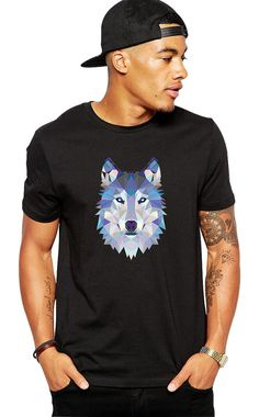 Wolf Shirt Wolves Tshirt Wolf Clothing Wolf Tee Animal Shirt Hipster Clothes Gifts For Him Wildlife T-Shirt Outdoors Nature Graphic