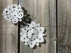 Fiocchi Di Neve Di Carta Modelli : Tutorial fiocchi di neve di carta winter christmas