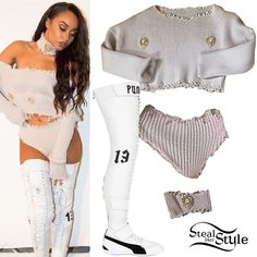 "Leigh-Anne Pinnock: ""Love Me Like You"" Outfits 