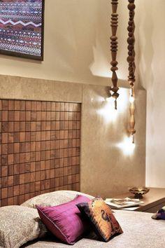 Prakruti Residence – a+t associates Bed Back, Entrance Doors, Bed Design, Decoration, Luxury Bedding, Modern Architecture, Master Bedroom, Furniture Design, Interior Design