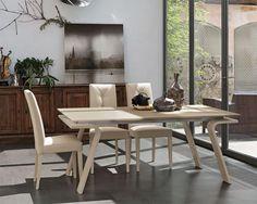 Tavolo rotondo allungabile a colonna bontempi casa giro tavoli